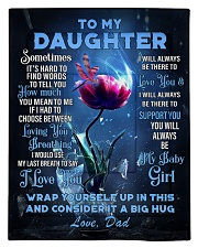 To My Daughter From DAD -Dragonfly Comforter - Twin thumbnail