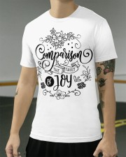Comparison is the thief of joy Classic T-Shirt apparel-classic-tshirt-lifestyle-front-103