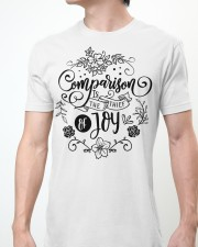 Comparison is the thief of joy Classic T-Shirt apparel-classic-tshirt-lifestyle-front-61