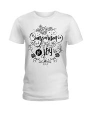 Comparison is the thief of joy Ladies T-Shirt tile