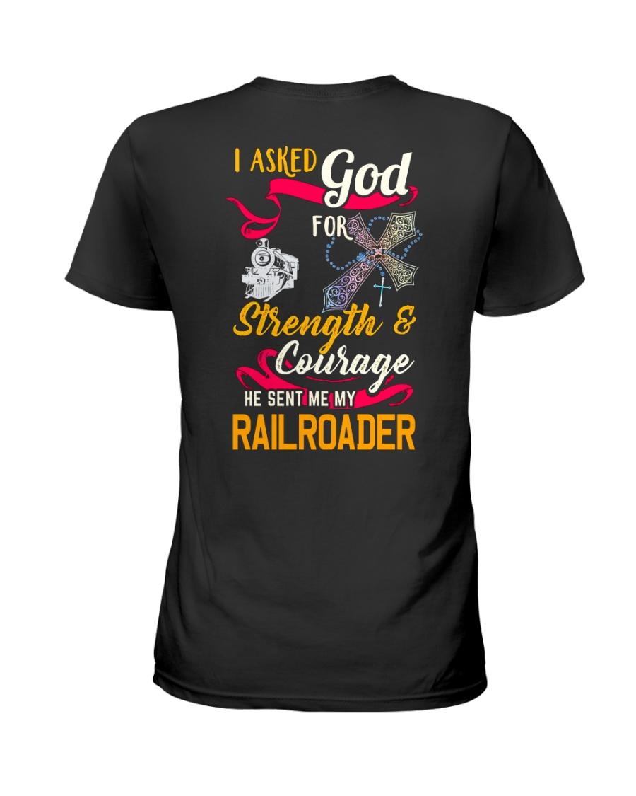 Railroader's Wife Ladies T-Shirt
