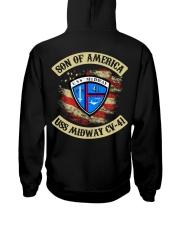 USS Midway CV-41 Hooded Sweatshirt thumbnail