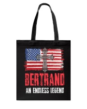 B-E-R-T-R-A-N-D Awesome Tote Bag tile