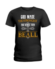 B-E-A-L-L Awesome Ladies T-Shirt thumbnail