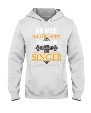 S-I-N-G-E-R Hooded Sweatshirt front