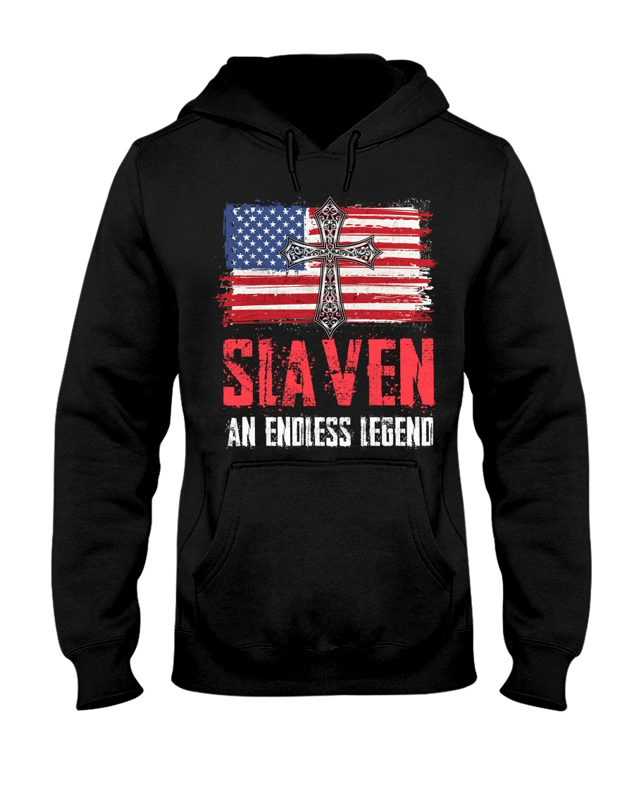 S-L-A-V-E-N Awesome Hooded Sweatshirt