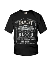 B-E-L-M-O-N-T Awesome Youth T-Shirt thumbnail