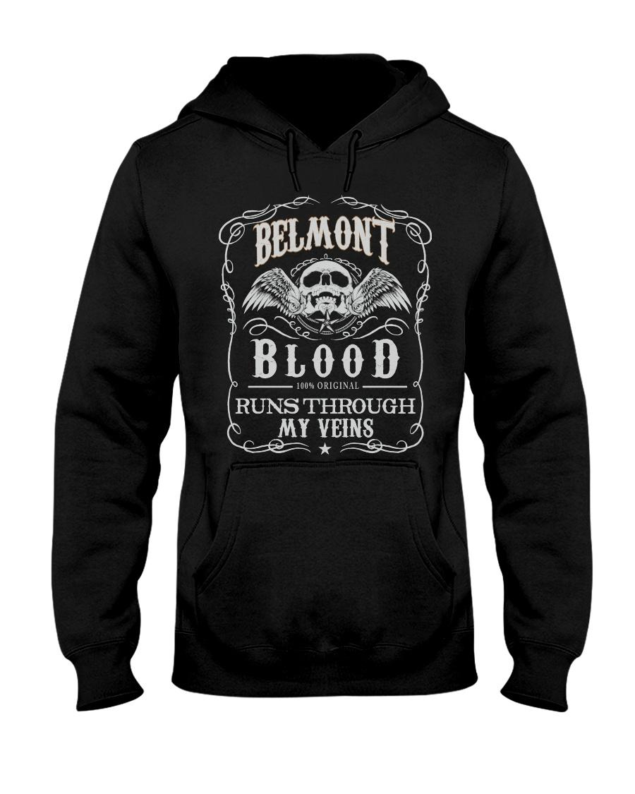 B-E-L-M-O-N-T Awesome Hooded Sweatshirt