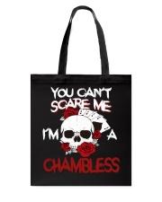 C-H-A-M-B-L-E-S-S Awesome Tote Bag thumbnail