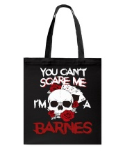 B-A-R-N-E-S Awesome Tote Bag tile