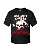 B-A-R-N-E-S Awesome Youth T-Shirt tile