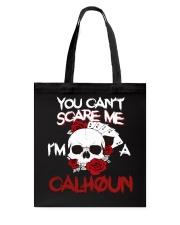 C-A-L-H-O-U-N Awesome Tote Bag thumbnail