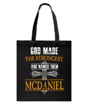 M-C-D-A-N-I-E-L Awesome Tote Bag thumbnail
