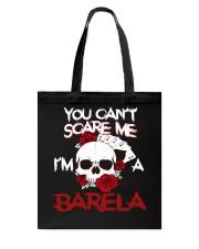 B-A-R-E-L-A Awesome Tote Bag thumbnail