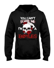 B-O-Y-L-E-S Awesome Hooded Sweatshirt front