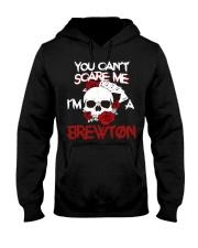 B-R-E-W-T-O-N Awesome Hooded Sweatshirt front