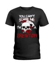 B-R-E-W-T-O-N Awesome Ladies T-Shirt thumbnail