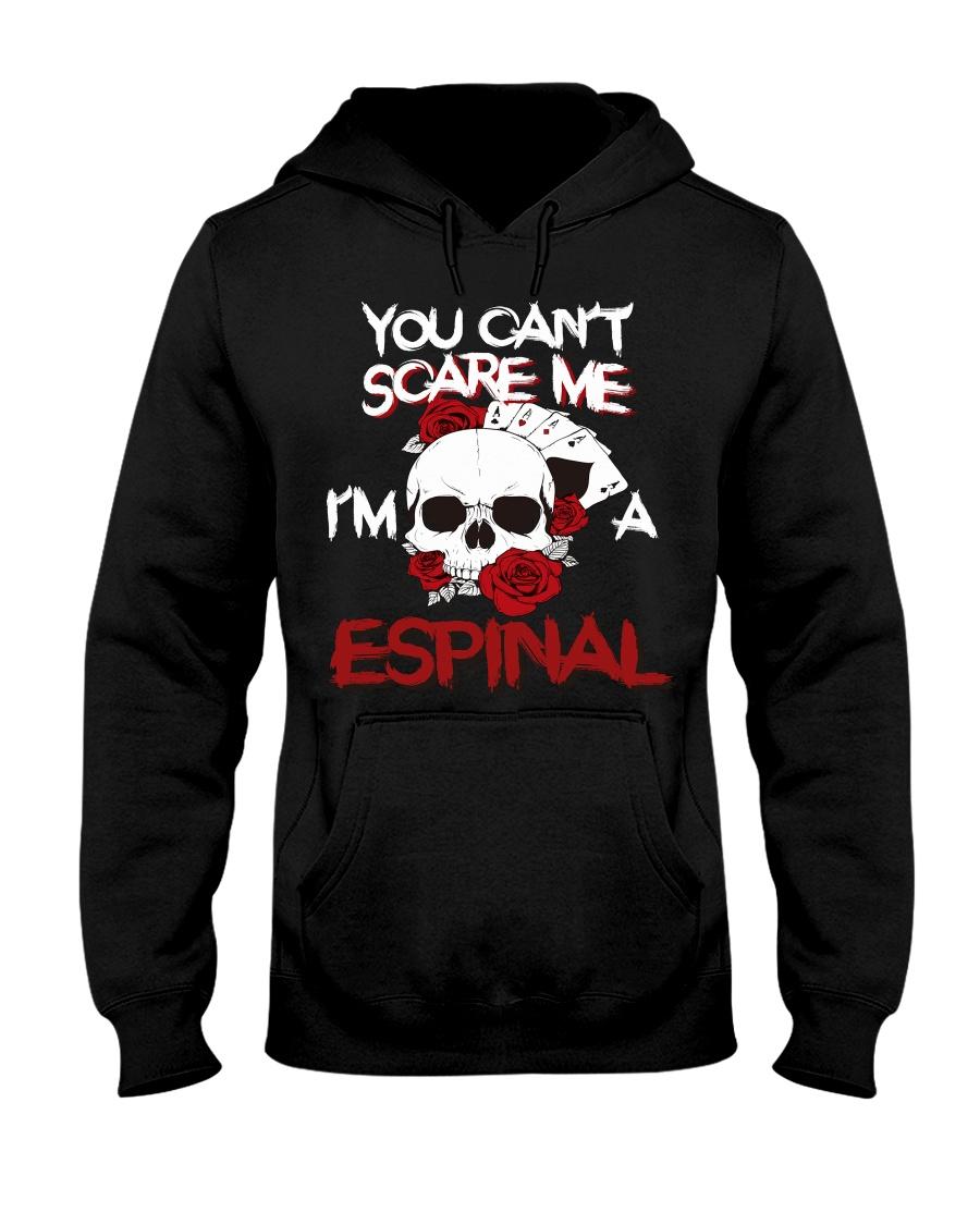 E-S-P-I-N-A-L Awesome Hooded Sweatshirt