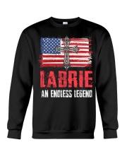 L-A-B-R-I-E Awesome Crewneck Sweatshirt thumbnail