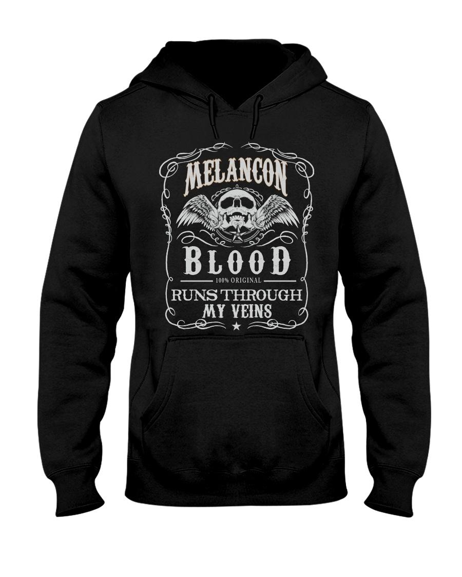 M-E-L-A-N-C-O-N Awesome Hooded Sweatshirt