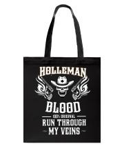 H-O-L-L-E-M-A-N Awesome Tote Bag thumbnail