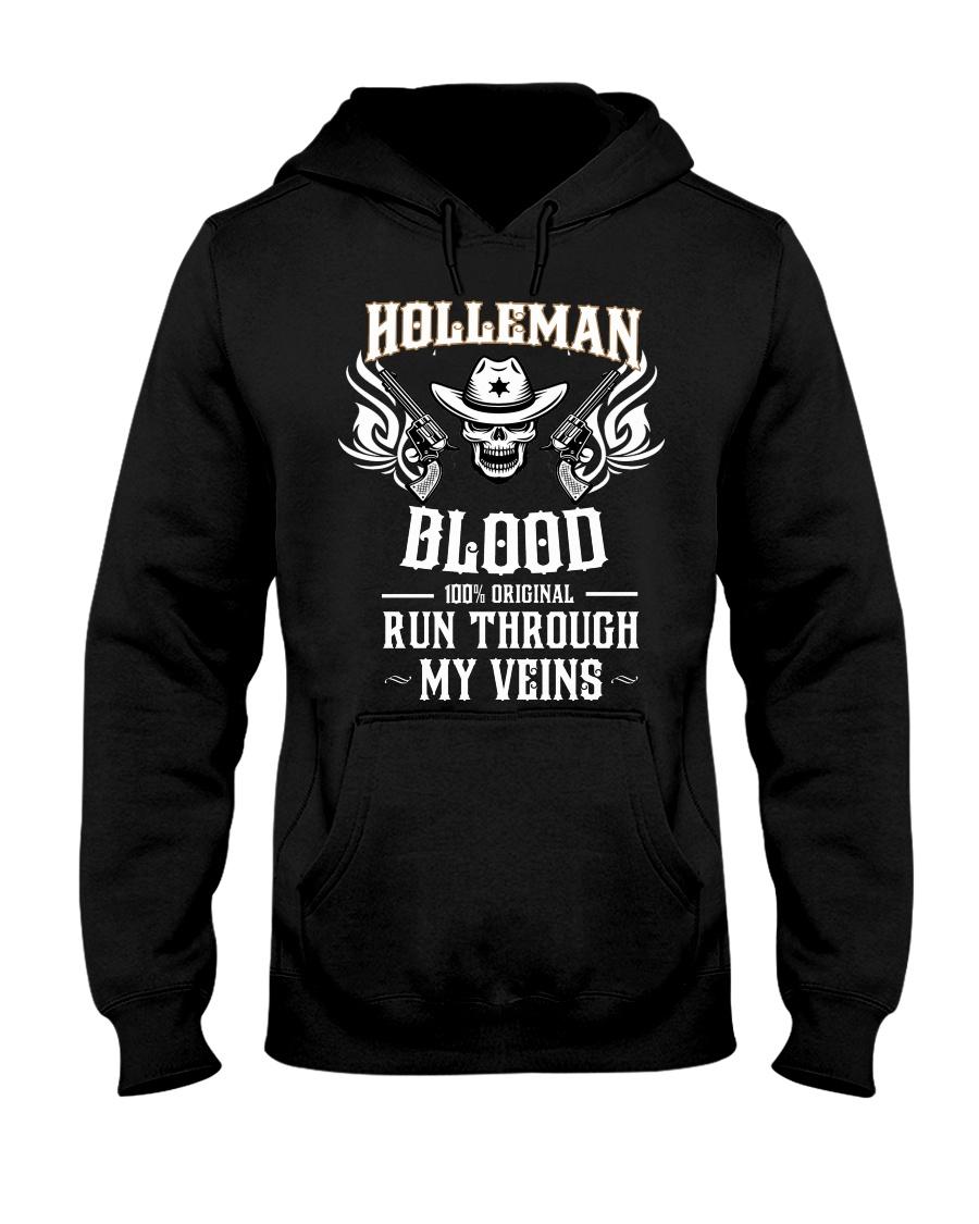 H-O-L-L-E-M-A-N Awesome Hooded Sweatshirt