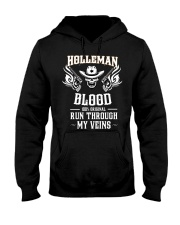 H-O-L-L-E-M-A-N Awesome Hooded Sweatshirt front