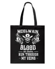 M-C-E-L-W-A-I-N Awesome Tote Bag thumbnail