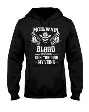M-C-E-L-W-A-I-N Awesome Hooded Sweatshirt front