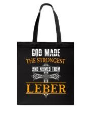 L-E-B-E-R Awesome Tote Bag thumbnail