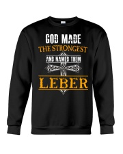 L-E-B-E-R Awesome Crewneck Sweatshirt thumbnail