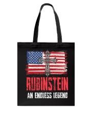 R-U-B-I-N-S-T-E-I-N Awesome Tote Bag thumbnail