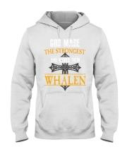 W-H-A-L-E-N Hooded Sweatshirt front