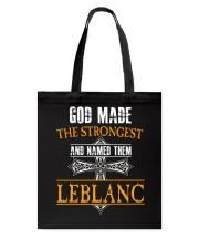 L-E-B-L-A-N-C Awesome Tote Bag thumbnail