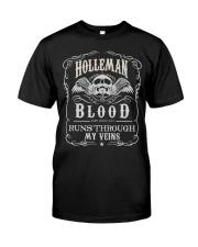 H-O-L-L-E-M-A-N Awesome Classic T-Shirt thumbnail