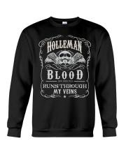 H-O-L-L-E-M-A-N Awesome Crewneck Sweatshirt thumbnail
