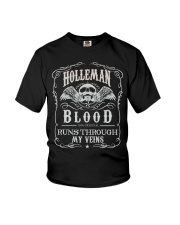 H-O-L-L-E-M-A-N Awesome Youth T-Shirt thumbnail
