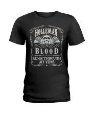 H-O-L-L-E-M-A-N Awesome Ladies T-Shirt thumbnail