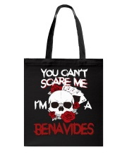 B-E-N-A-V-I-D-E-S Awesome Tote Bag thumbnail