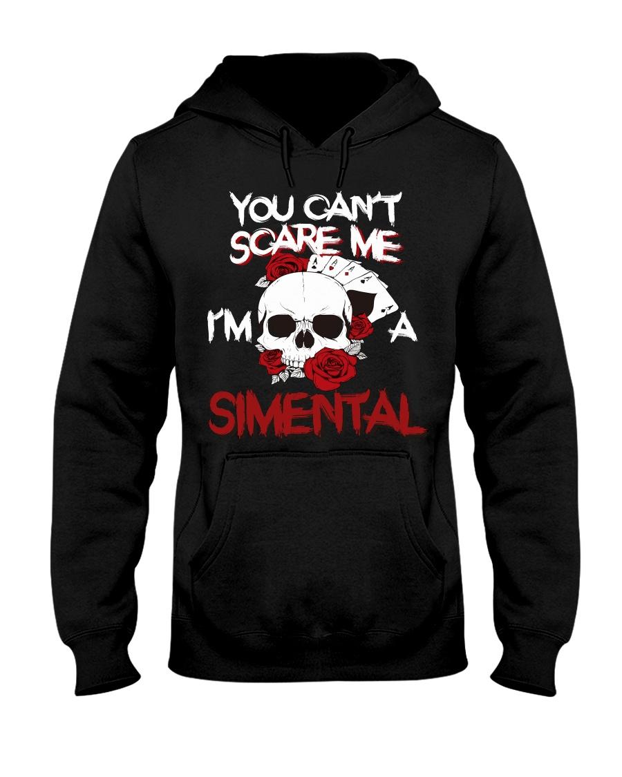 S-I-M-E-N-T-A-L Awesome Hooded Sweatshirt
