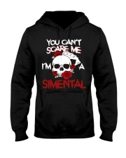 S-I-M-E-N-T-A-L Awesome Hooded Sweatshirt front