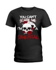 S-I-M-E-N-T-A-L Awesome Ladies T-Shirt thumbnail