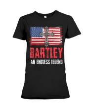 B-A-R-T-L-E-Y Awesome Premium Fit Ladies Tee tile