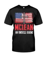 M-C-L-E-A-N Awesome Classic T-Shirt thumbnail