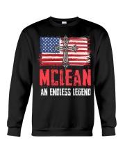 M-C-L-E-A-N Awesome Crewneck Sweatshirt thumbnail