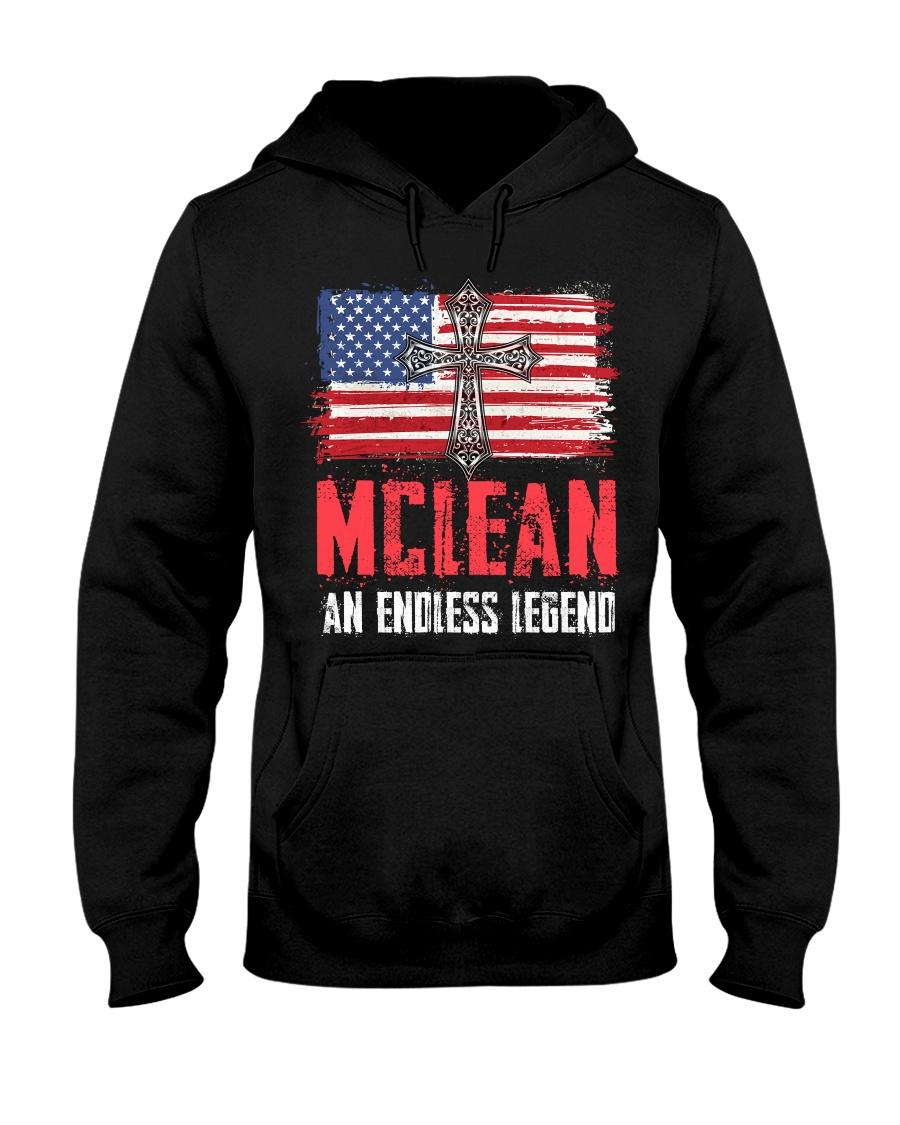 M-C-L-E-A-N Awesome Hooded Sweatshirt