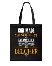 B-E-L-C-H-E-R Awesome Tote Bag thumbnail