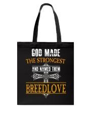 B-R-E-E-D-L-O-V-E Awesome Tote Bag thumbnail