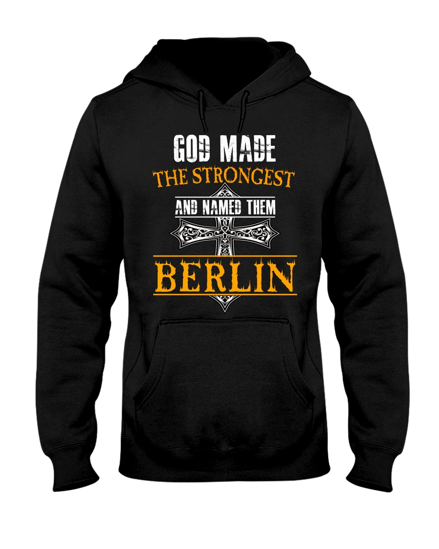 B-E-R-L-I-N Awesome Hooded Sweatshirt