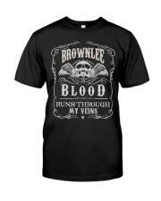 B-R-O-W-N-L-E-E Awesome Classic T-Shirt thumbnail